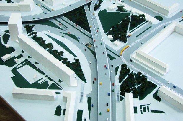 На Ленинградской площади построят трёхуровневую развязку. Зображення № 2.