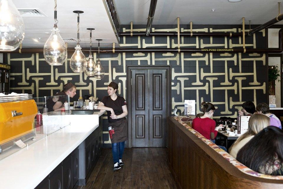 Шоколадный бар MaxBrenner. Изображение № 5.