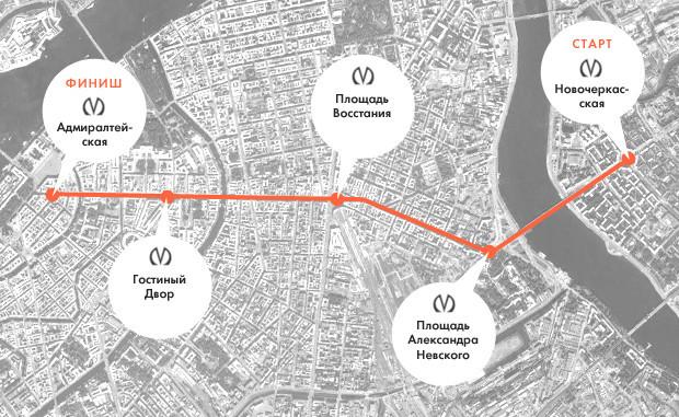 Эксперимент The Village: Какой транспорт в Петербурге быстрее . Изображение № 1.