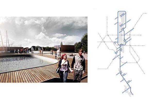 Голубая линия: Румынские архитекторы оживят днепровские острова. Зображення № 3.