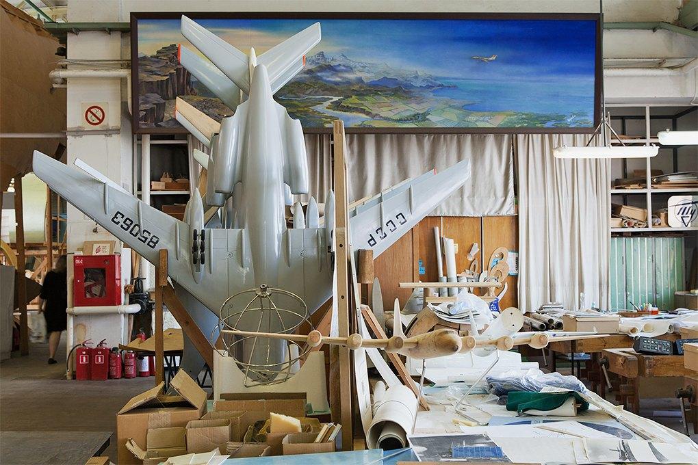 Производственный процесс: Какконструируют самолёты. Изображение № 8.