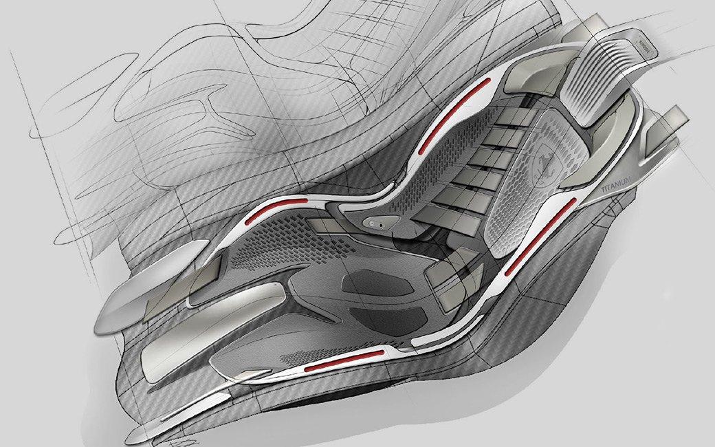 Концепт кресла Ferrari LaFerrari. Данил Кузвесов.. Изображение № 7.