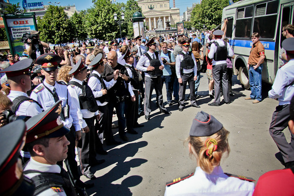 Изображение 4. Copwatch: действия полиции на «Дне гнева» на Театральной площади.. Изображение № 4.