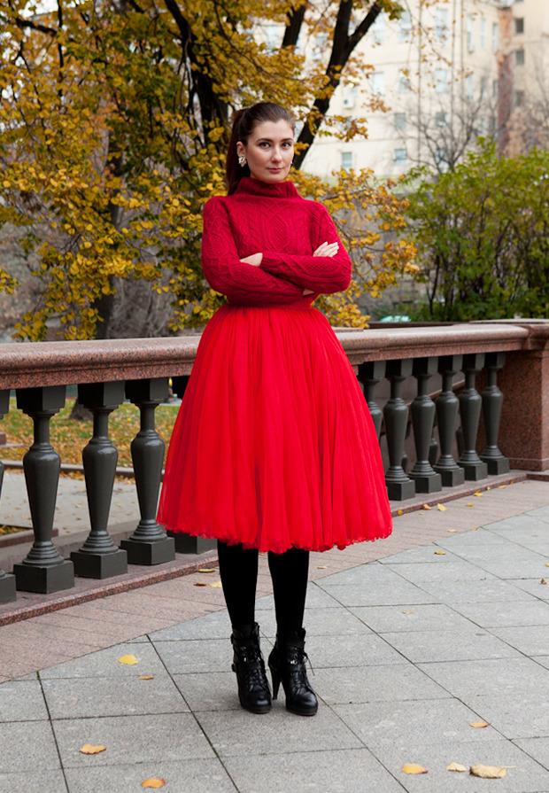 Внешний вид: Юлия Булгакова, старший редактор Glamour.ru. Изображение №1.