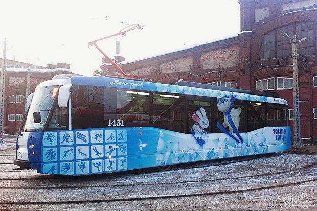 Олимпийский трамвай курсирует по городу. Изображение № 1.