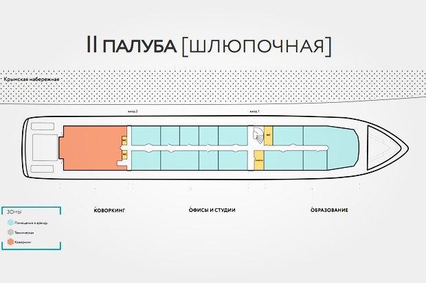 Арт-корабль «Валерий Брюсов» начнёт работу 13июля. Изображение № 4.