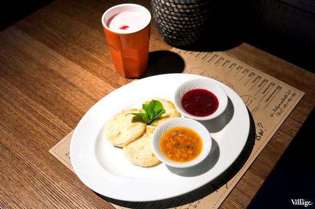 Сырники с облепихой и малиной — 240 рублей. Изображение № 27.