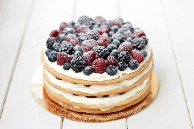 Медово-ягодный торт Teabakery. Изображение № 2.