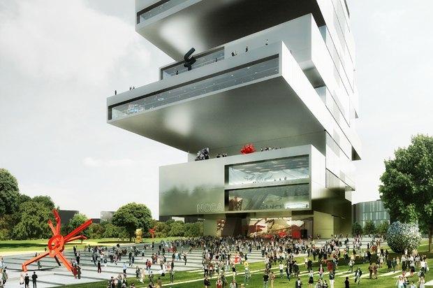 Три проекта нового здания ГЦСИ. Изображение № 5.