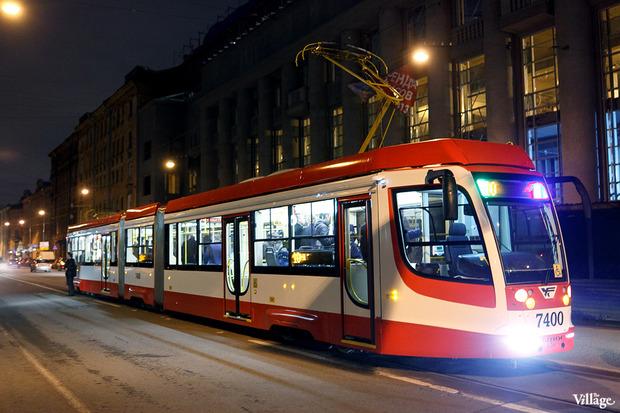 В городе появились первые скоростные трамваи. Изображение № 1.