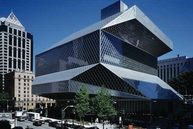 Центральная библиотека Сиэтла, 2004. Изображение №7.