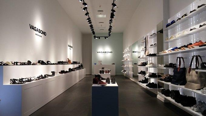 В торговом центре «Мега Тёплый Стан» открывается магазин обуви Vagabond. Изображение № 1.