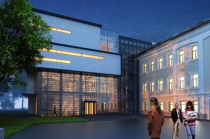 Вновом здании Дома русского зарубежья имени Солженицына будут фасады-«хамелеоны»