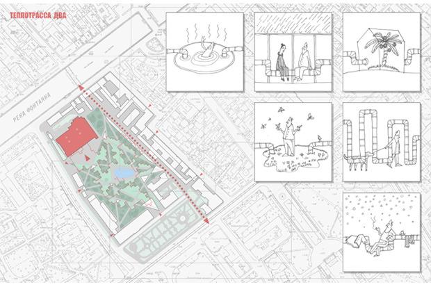 10 проектов квартала около Витебского вокзала . Изображение №42.