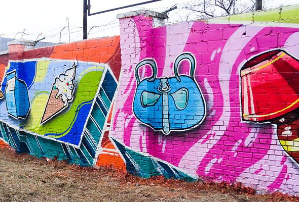 В Киеве появились граффити рекордных размеров. Изображение № 11.