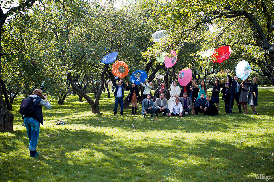 Люди в городе: Любительские фотосессии в парке. Изображение №1.