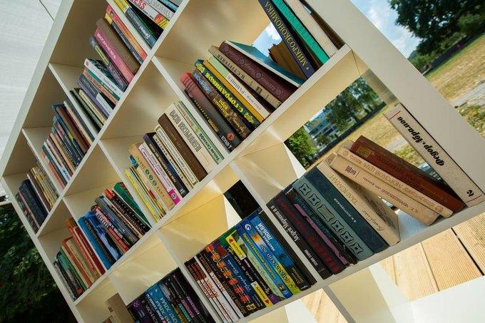 На ВДНХ открылась летняя читальня. Изображение № 2.