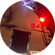 Фоторепортаж: Как разводят Дворцовый мост. Изображение № 7.