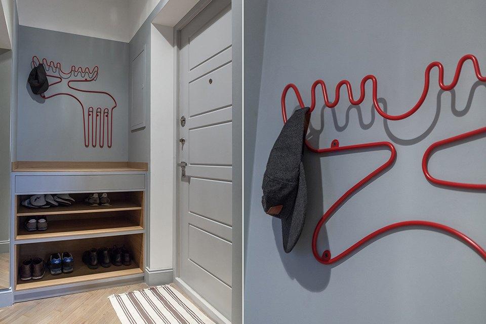 Трёхкомнатная квартира для холостяка наТишинке. Изображение № 4.