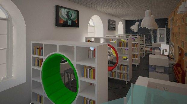 Библиотеку Гоголя откроют в экспериментальном формате. Изображение № 6.