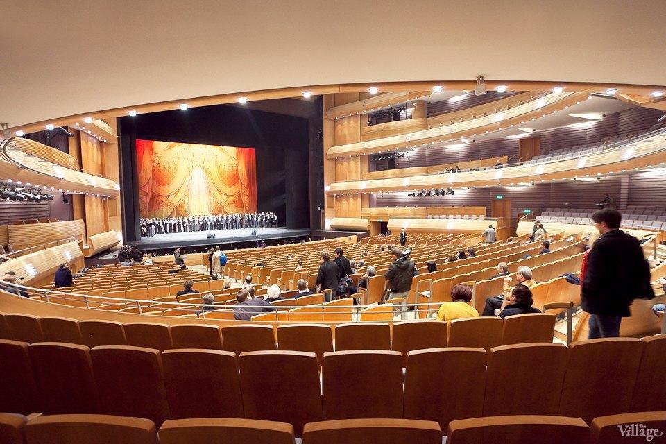 Фоторепортаж: Вторая сцена Мариинского театра изнутри. Изображение № 18.