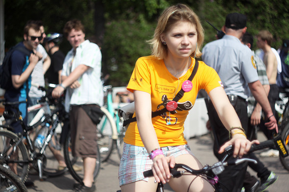 Велопарад Let's bike it!: Чего не хватает велосипедистам в городе. Изображение № 15.