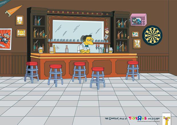 На Пятницкой откроется кафе из «Симпсонов». Изображение №1.