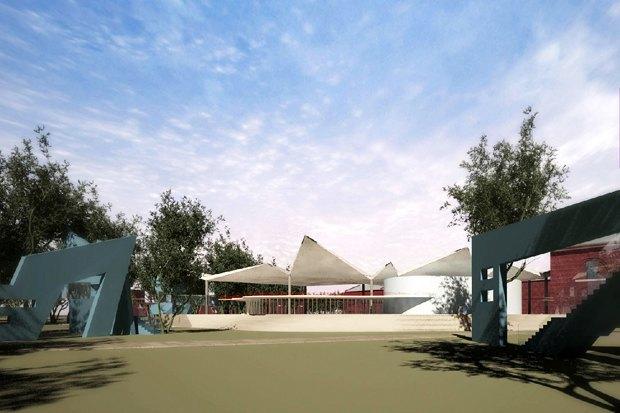 Крытая летняя арена. Изображение № 15.