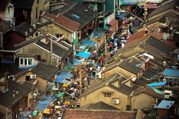 Часть целого: Старый город вШанхае. Изображение № 2.