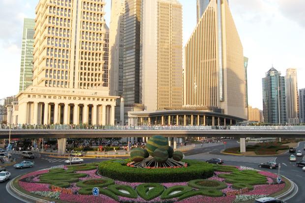 Идеи для города: Круглый пешеходный мост в Шанхае. Изображение № 7.