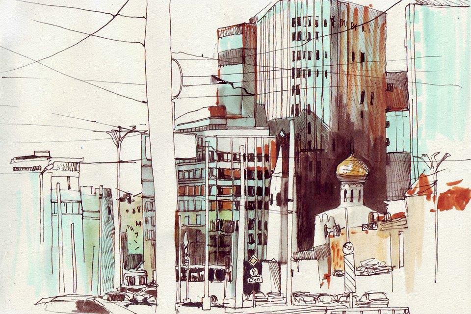 Клуб рисовальщиков: «Белая площадь». Изображение №10.
