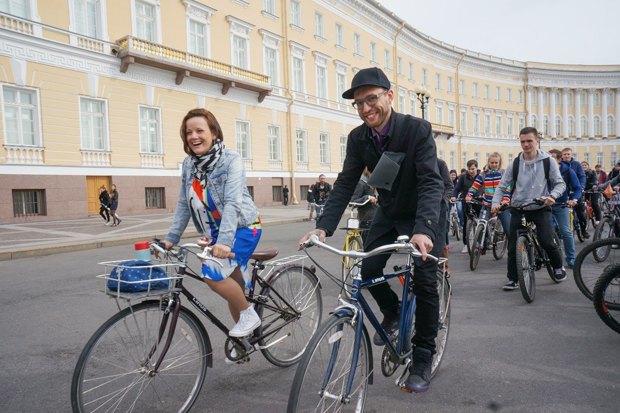 Велосоветник Дарья Табачникова— про велохамов, «камасутра»-парковки ибесплатную работу вСмольном. Изображение № 3.