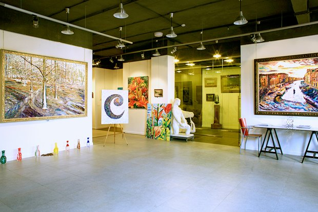 На Саввинской набережной открывается художественный центр. Изображение № 3.