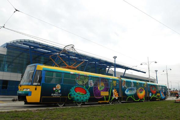 Для Троещины хотят закупить трамваи в Лейпциге. Зображення № 1.