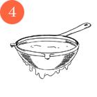 Рецепты шефов: Мороженое счаем матча, с малиной исмоцареллой и базиликом. Изображение № 12.