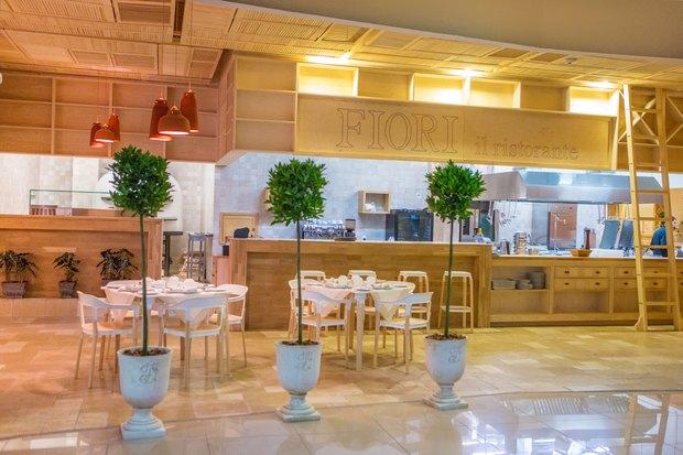 В «Домосфере» начал работу ресторан Fiori Il Ristorante. Зображення № 1.