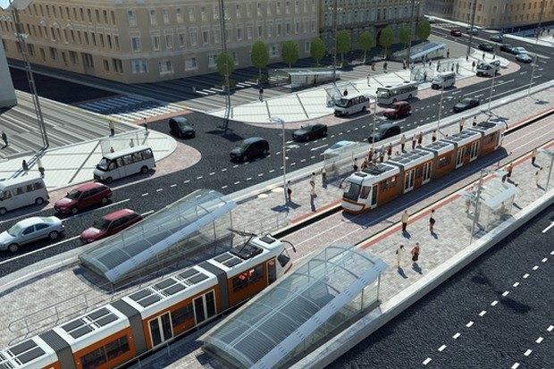 Смольный утвердил проект реконструкции Сенной площади. Изображение № 7.