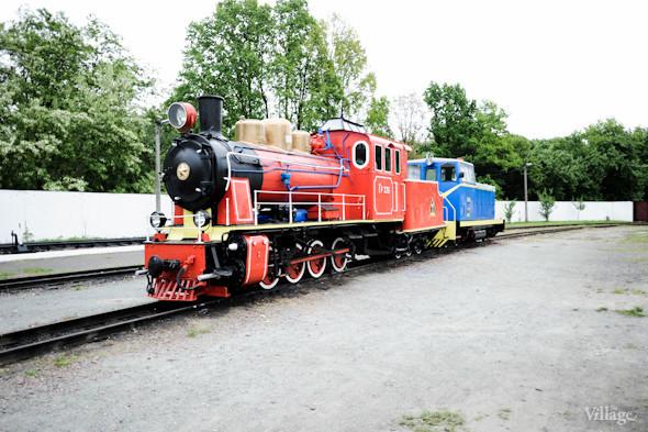 Немецкий паровоз 1951 года выпуска. В 1953 году он первым вышел на рельсы железной дороги в Сырецком парке.. Изображение № 10.