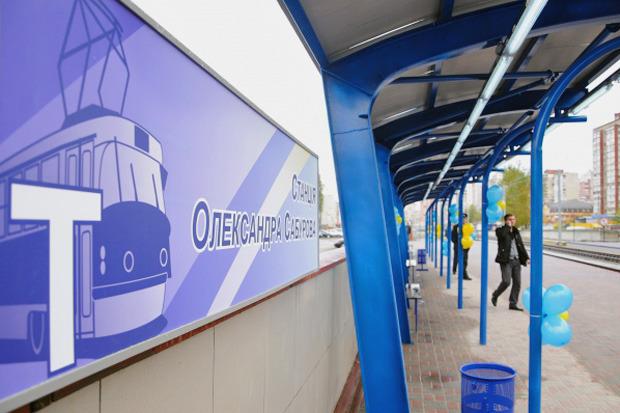 Вместо метро: На Троещине запустили скоростной трамвай. Изображение № 5.