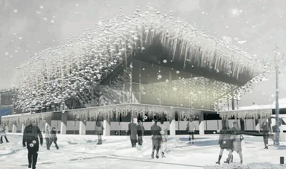 Изображение 1. Иностранные архитекторы представили проекты реконструкции кинотеатра «Пушкинский».. Изображение № 1.