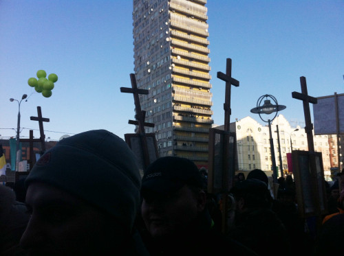 Онлайн-трансляция: Митинг на Новом Арбате. Изображение № 26.