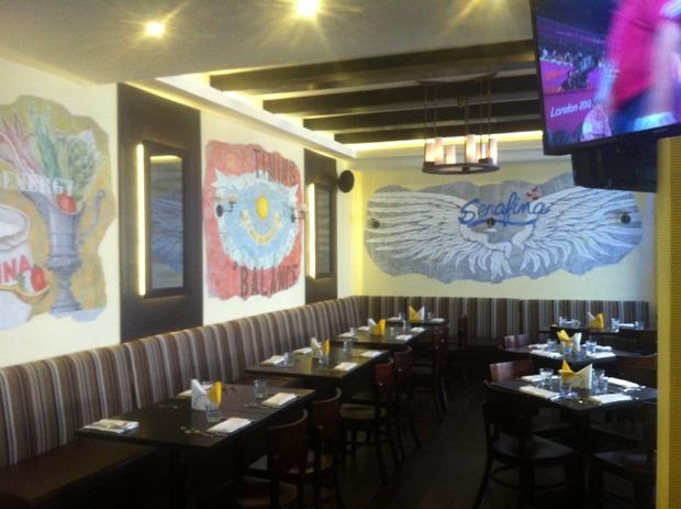 На Красной Пресне открылся первый ресторан сети Serafina. Изображение №1.