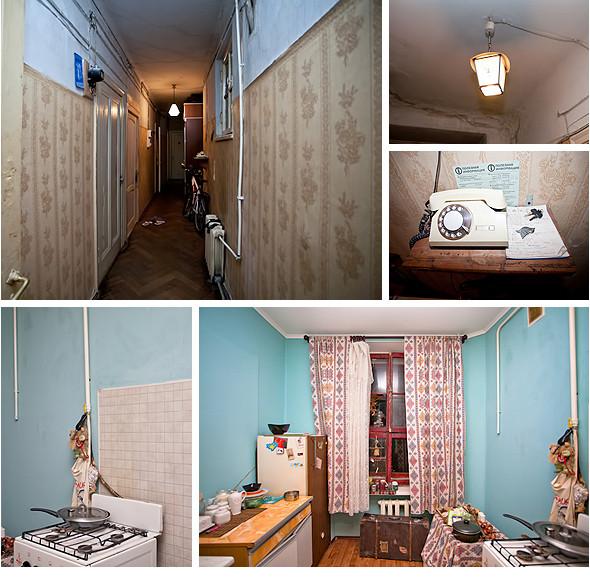 Изображение 72. Общественное пространство: петербургские коммунальные квартиры.. Изображение № 1.