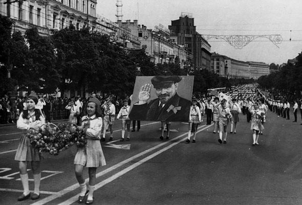 Фоторепортаж: Последний день работы киевского ЦУМа. Изображение № 54.