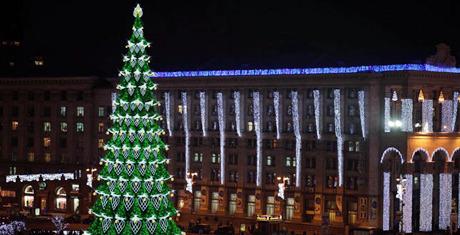 Городские власти решили, какой будет новогодняя ёлка. Зображення № 1.