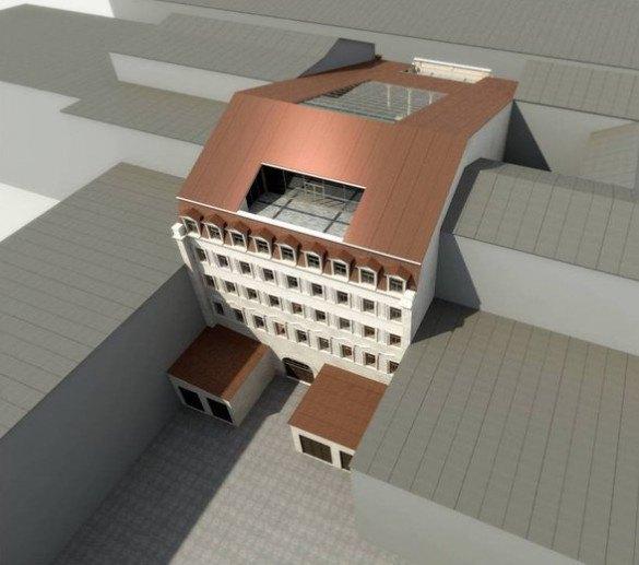Опубликован проект гостиницы наместе кластера «Архитектор». Изображение № 1.