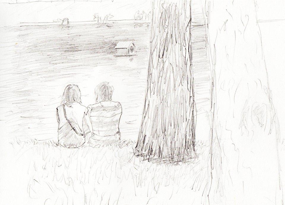 Клуб рисовальщиков: Патриаршие пруды. Изображение №1.