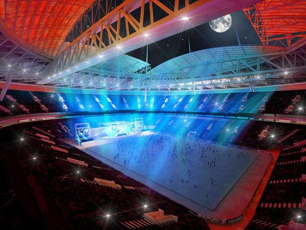 Опубликованы финальные рендеры строящегося стадиона наКрестовском. Изображение № 7.
