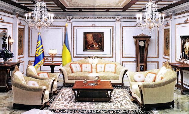 На первом этаже обустроят апартаменты президента. Изображение № 5.