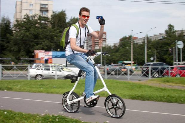 Велодорожку на Луначарского оккупировали 200 велосипедистов. Изображение № 8.